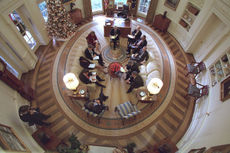 Oval Office in 2001